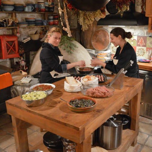Magereio (the guesthouse kitchen) is the soul of Anemi Guesthouse, as always was the kitchen of the house