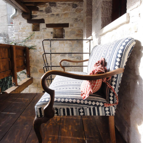 "Anemi consists of 7 guest rooms and the ""magirio"" (the old house's kitchen room) and it overlooks the highlands of Zagori"