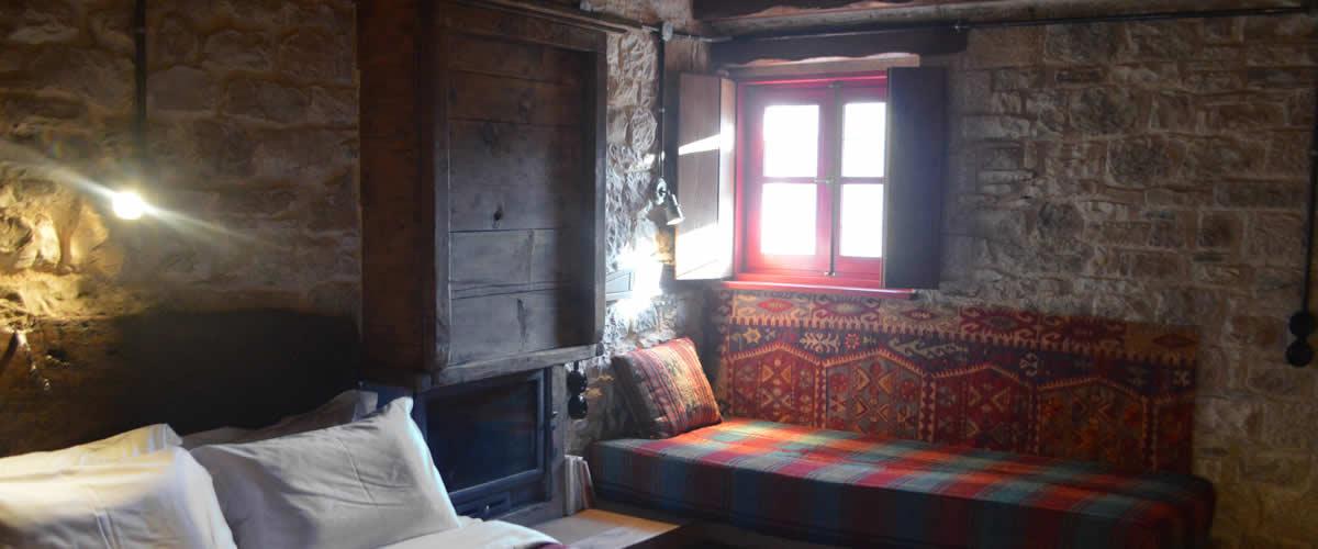 Η Ρόκα είναι το 7ο δωμάτιο τού Ξενώνα Ανέμη στα Ζαγοροχώρια