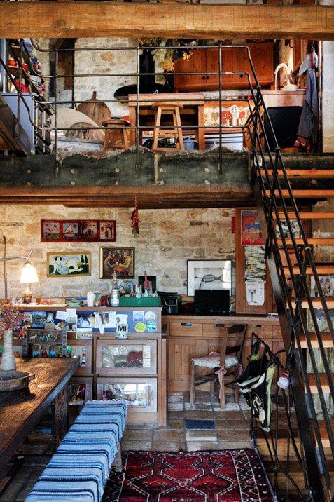 Εστιατόριο-cafe τού Ξενώνα Ανέμη στα Κάτω Πεδινά Ζαγοροχωρίων