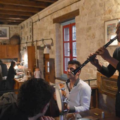 La cuisine de Anemi Guesthouse à Zagori