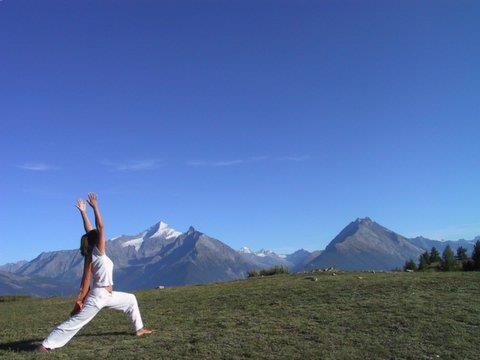L'été, nous organisons un weekend Détox avec Sabrina Auge, avec en plus l'oxygène de la montagne, à la maison d'hôtes Anémi  à Kato Pédina Zagori